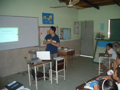 ベネズエラでの環境教育